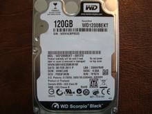 Western Digital WD1200BEKT-00F3T0 DCM:HHNTJHB 120gb Sata (Donor for Parts)