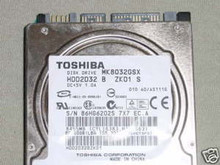 TOSHIBA MK8032GSX, HDD2D32 B ZK01 S, 80GB, SATA 360229415756
