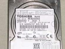 TOSHIBA MK8032GSX, HDD2D32 T ZK01 T, 80GB, SATA 360272773242
