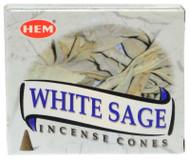 White Sage HEM cone box