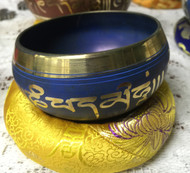 Nepal Singing Bowl Colored