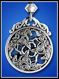 Horse Triscele Epona - Celtic Horse Goddess
