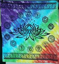 Chakra Lotus altar cloth