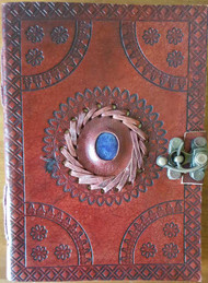 God's Eye Embossed leather Journal