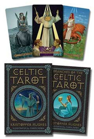 Celtic tarot deck & book by Hughes & Down