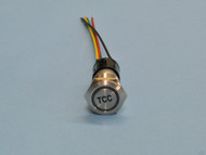 Illuminated Pushbutton Transmission Switch – Billet Etched