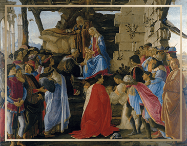 Adoration of The Magi Christmas Card | James Anthony Collection