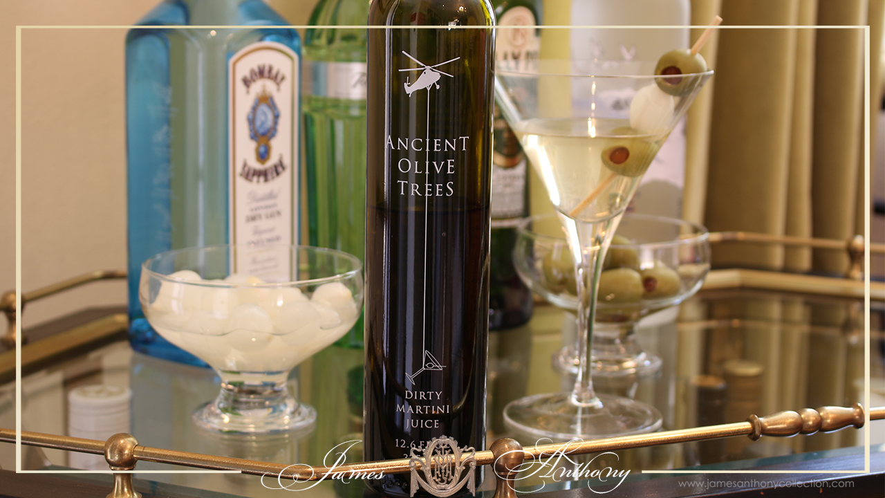 Ancient Olive Trees Dirty Martini Recipe | James Anthony Collection