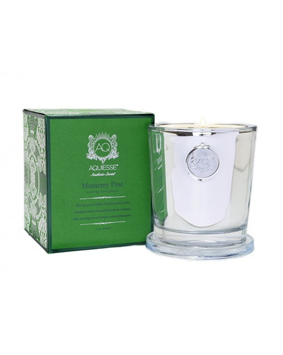 Aquiesse Monterey Pine Large Holiday Candle | James Anthony Collection