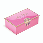 Louis Sherry 2-Piece Dapper Pink Tin | James Anthony Collection