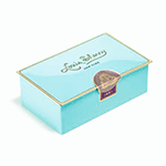 Louis Sherry 2-Piece Nile Blue Tin | James Anthony Collection