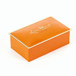 Louis Sherry 2 Piece Tangerine Tin | James Anthony Collection