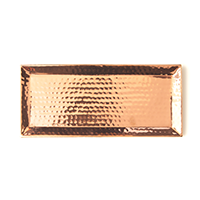 Rosy Rings Hammered Rose Gold Tray | James Anthony Collection