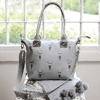 Sophie Allport Highland Stag Mini Oundle Bag | James Anthony Collection