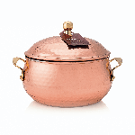 Thymes Simmered Cider Candle Copper Pot | James Anthony Collection