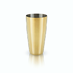 Viski Belmont Gold Boston Shaking Tin | James Anthony Collection