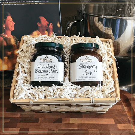 Stonewall Kitchen Wild Maine Blueberry Jam Strawberry Jam Gift
