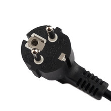 EU / S.Korea Type AC Power Cable