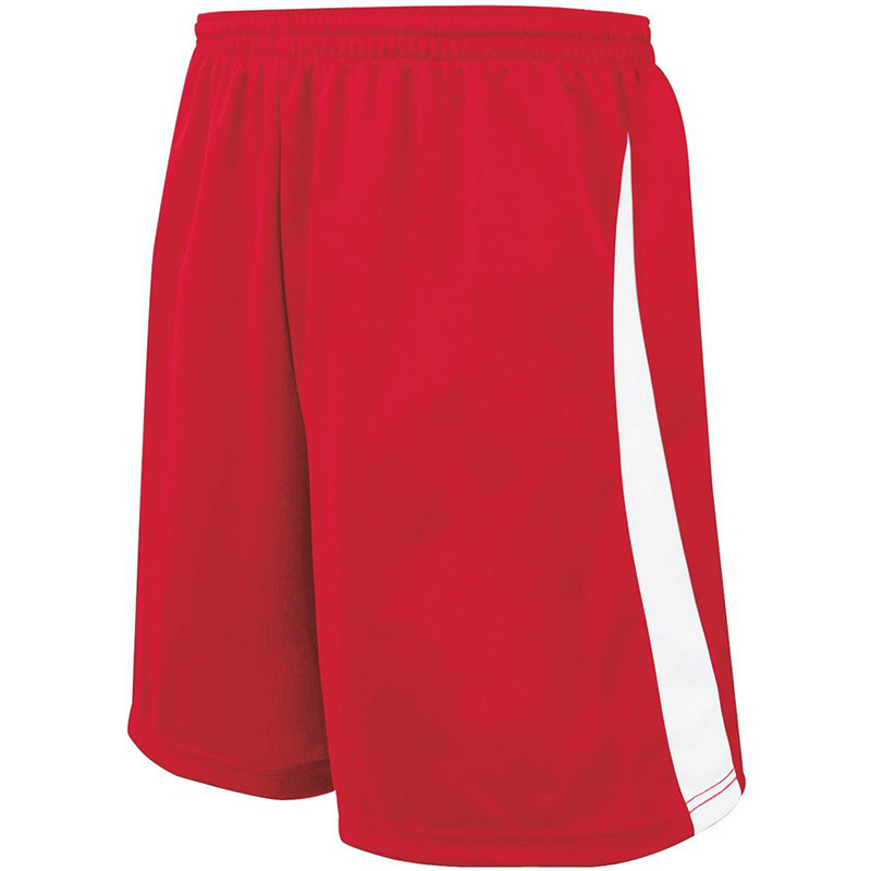 High Five Albion Shorts - Scarlet/White