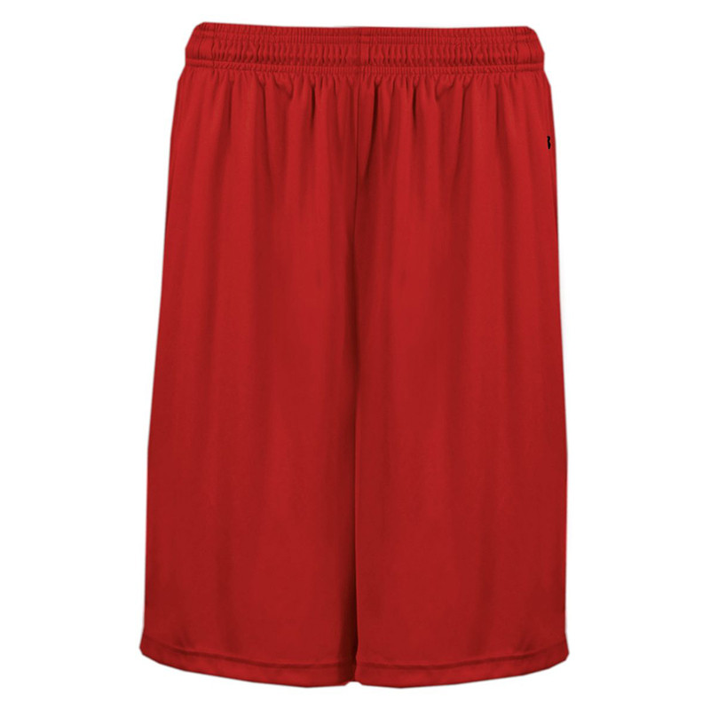 Badger Men's B-Core Pocketed Shorts - Red
