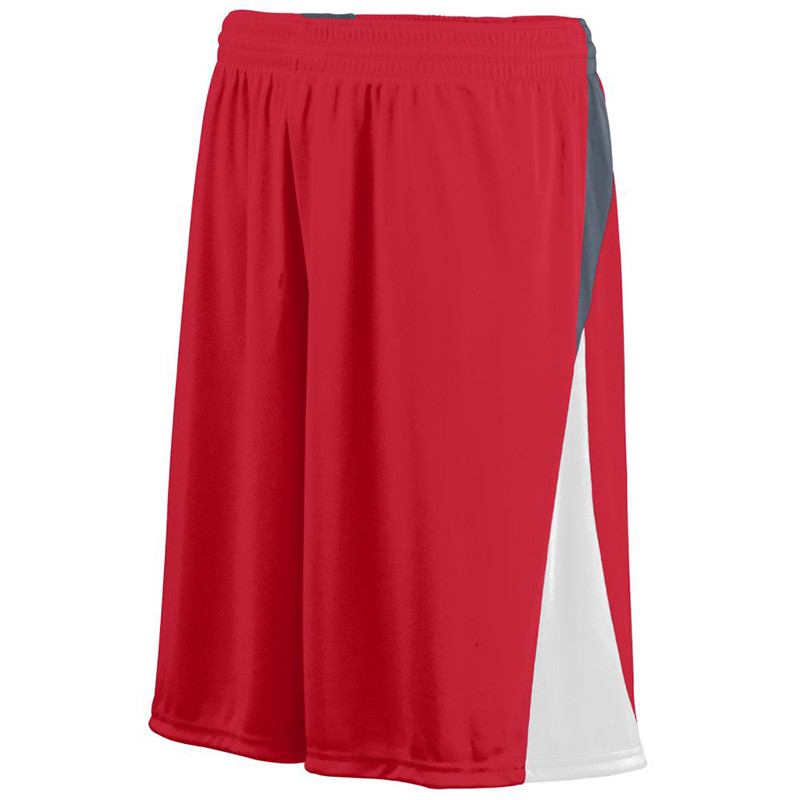 Augusta Men's Cyclone Shorts - Red