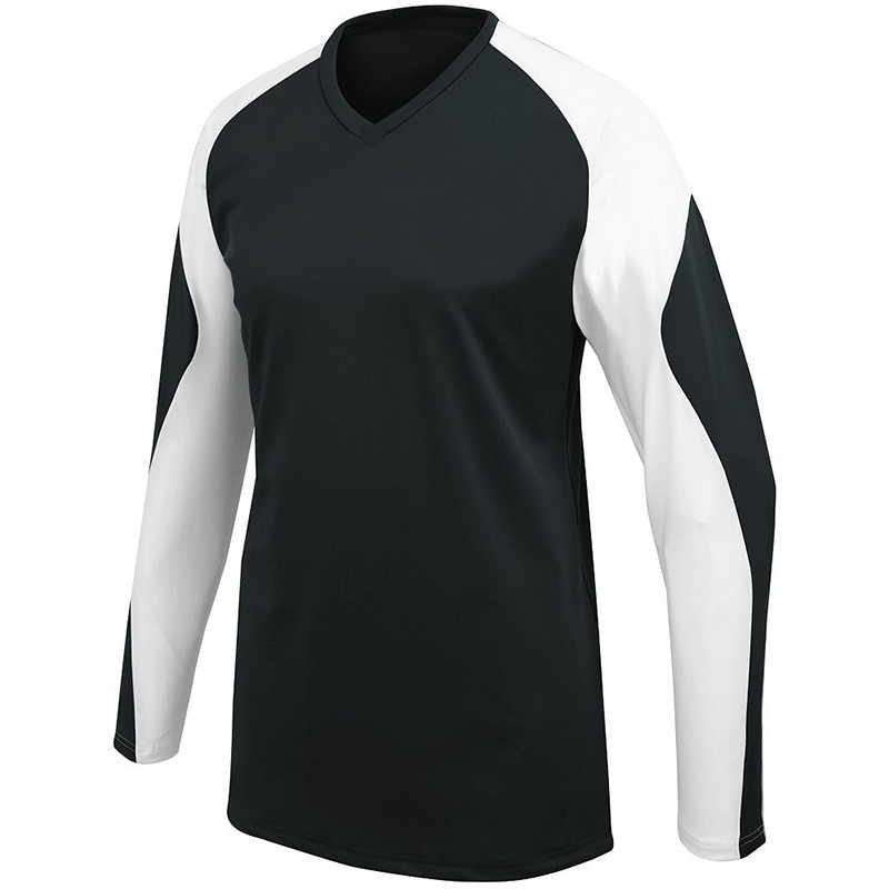 High Five Women's Radius Long Sleeve Jersey - Black