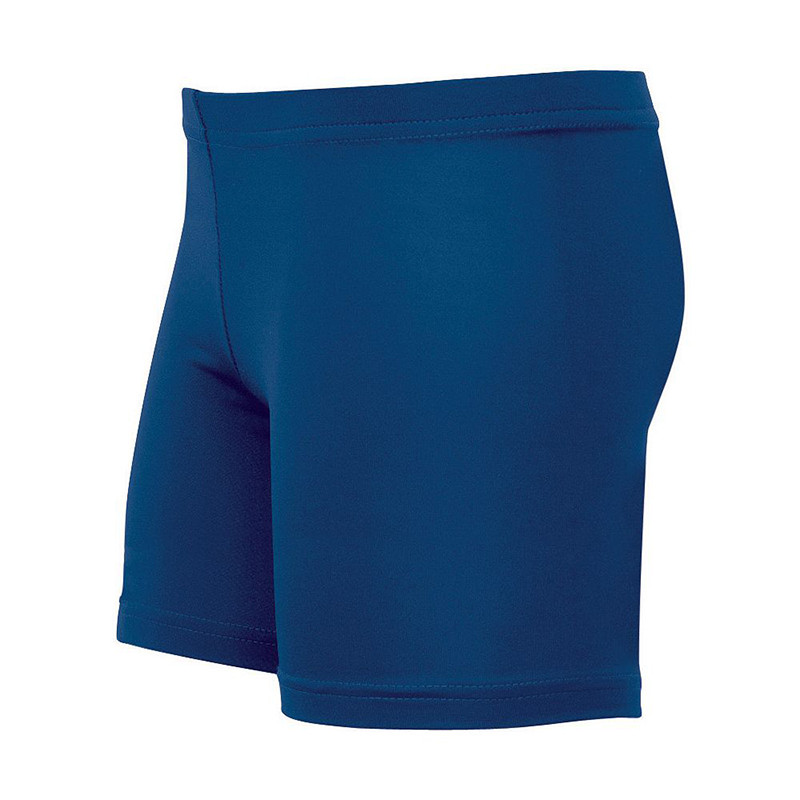 High Five Women's Polyester Spandex Shorts - Navy