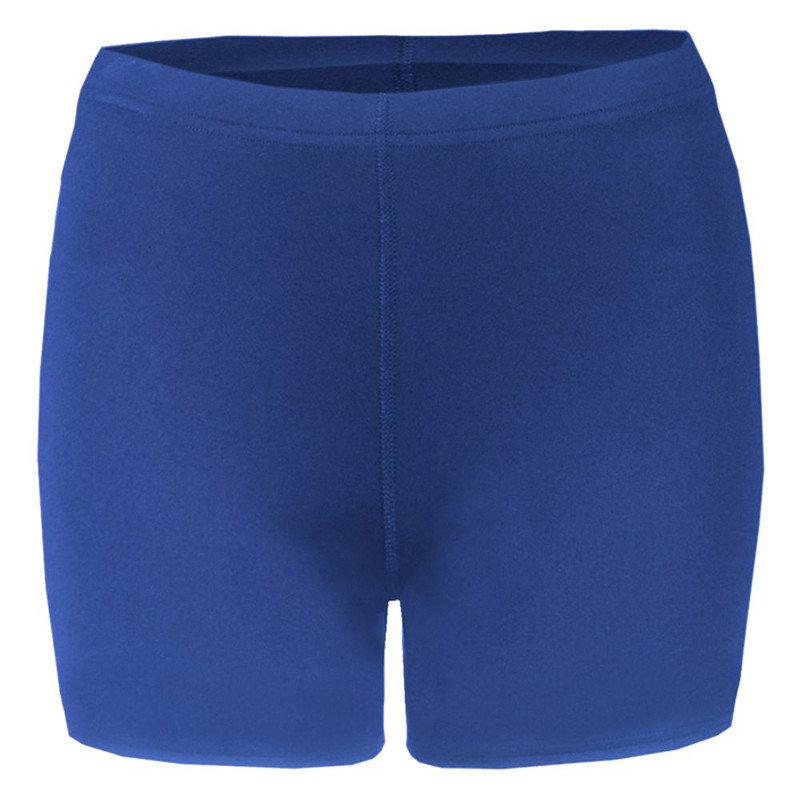 Badger Women's Compression 4-Inch Shorts - Royal