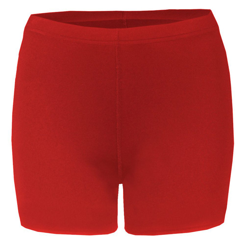 Badger Women's B-Fit Compression Shorts - Red