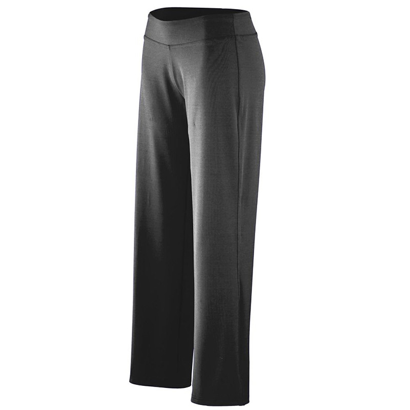 Augusta Women's Poly Spandex Pants - Black