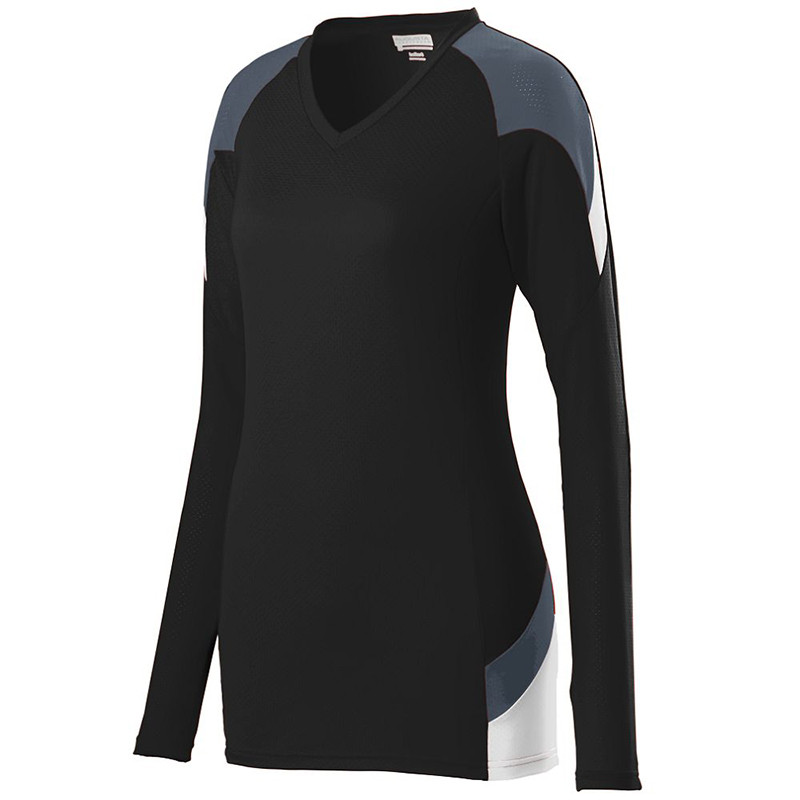Augusta Women's Set Jersey - Black