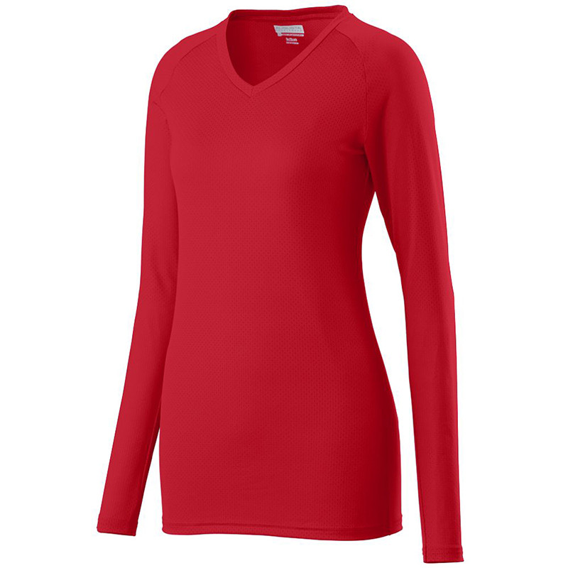Augusta Women's Assist Jersey - Red