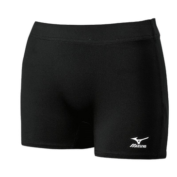 Mizuno Women's Core Flat Front Short - Black