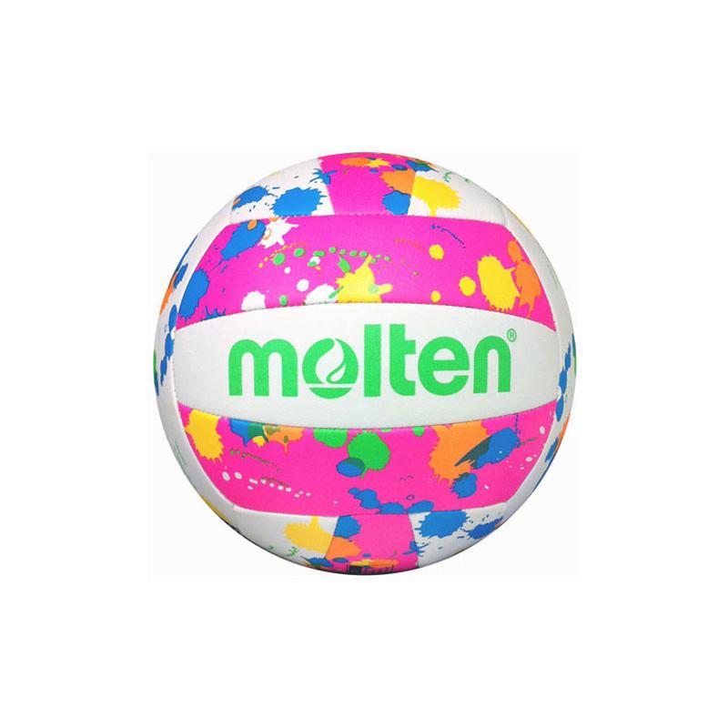 Molten Recreational Volleyball - Neon Splat