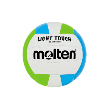 Molten Light Touch Volleyball- Green/Blue