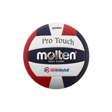 Molten Pro Touch Volleyball - Red/White/Blue