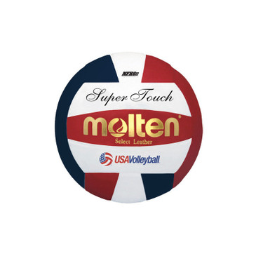 Molten Super Touch Volleyball - Red/Blue