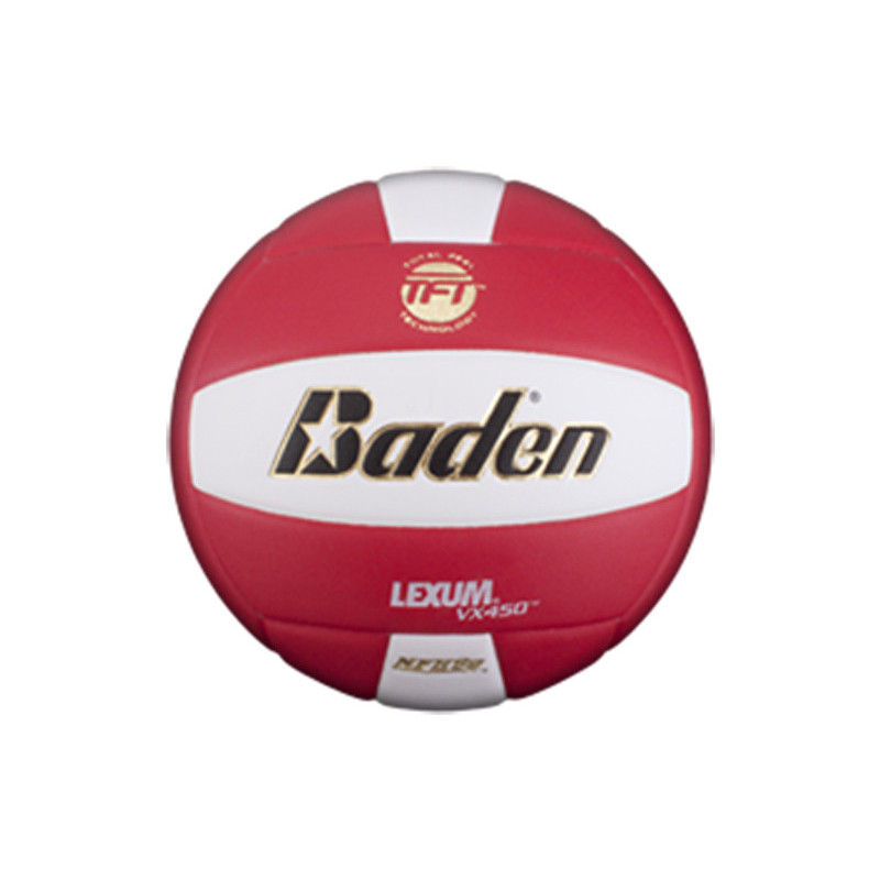 Baden Lexum Comp VX450 Volleyball - Red