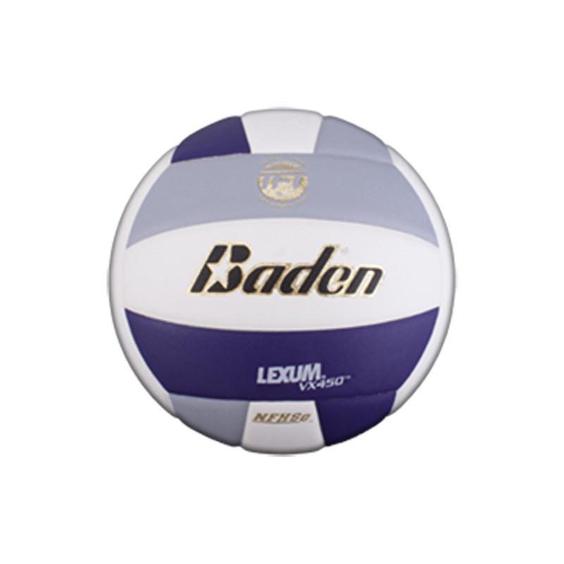 Baden Lexum Comp VX450 Volleyball - Navy/Grey