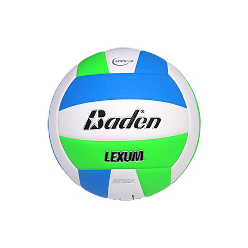 Baden Lexum Comp VX450 Volleyball - Neon Blue/Neon Green