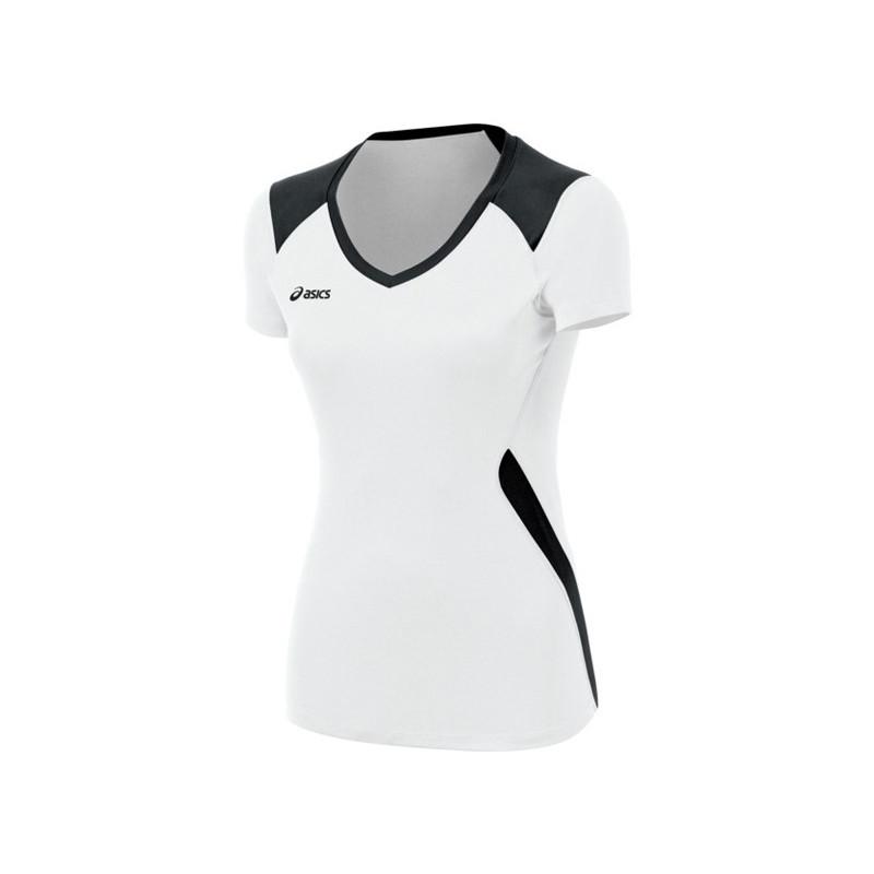 Asics Women's Jr. Set Jersey - White/Navy