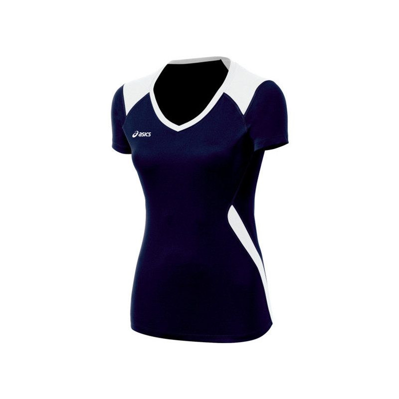 Asics Women's Set Jersey - Navy/White