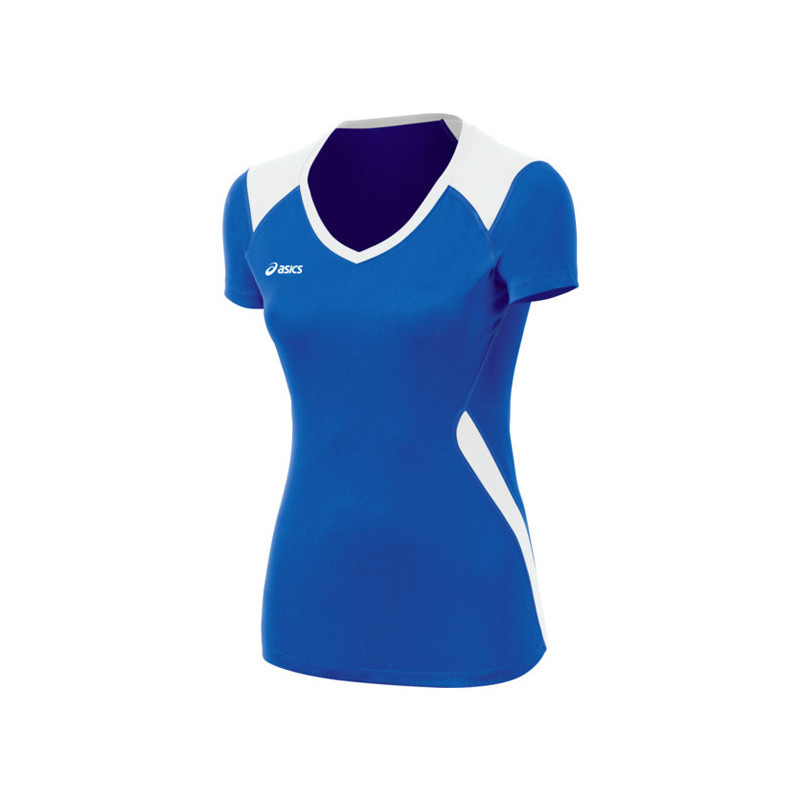 Asics Women's Set Jersey - Royal/White