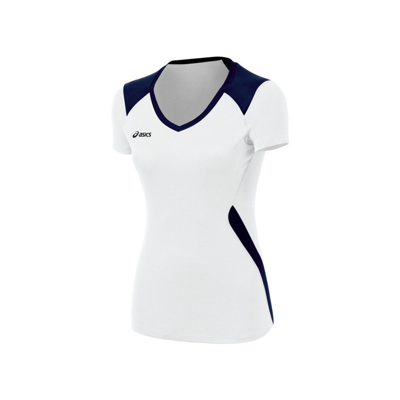Asics Women's Set Jersey - White/Navy
