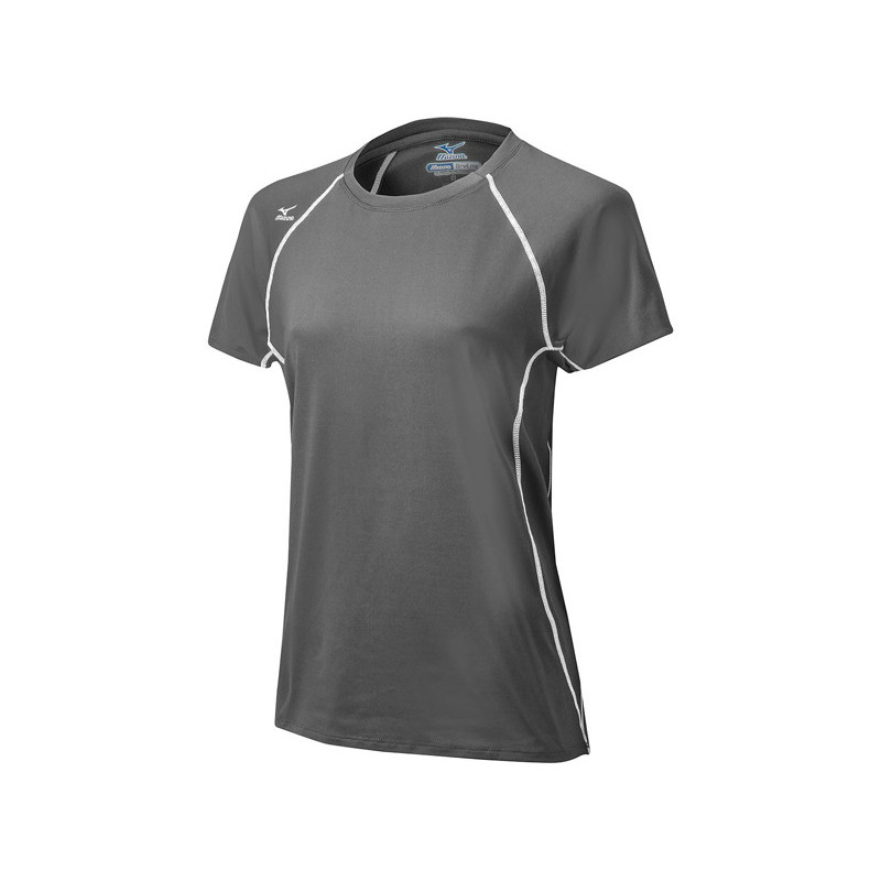 Mizuno Women's Balboa 3.0 Short Sleeve Jersey - Grey