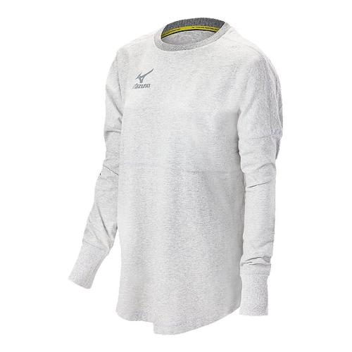 Mizuno Women's Hitter's Pullover- White