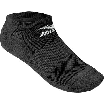 Mizuno No Show Performance Sock - Black