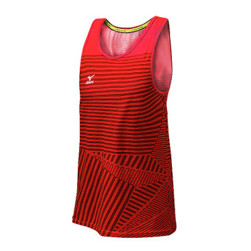 Mizuno Men's Pro Copa Tank - Red