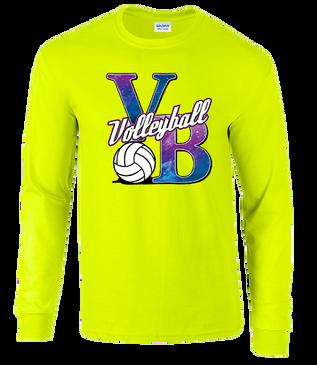 Galaxy VB LS T-Shirt - Neon Yellow