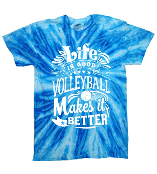 Life is Good SS Tye Dye T-Shirt